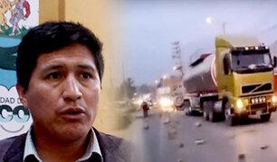 Huánuco: Trabajadores de Construcción Civil advirtieron que extenderían paro a 72 horas