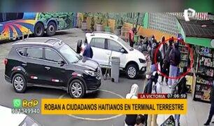 Roban a ciudadanos haitianos en terminal terrestre de La Victoria