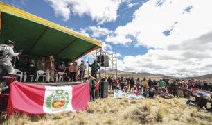 Ejecutivo y empresa Las Bambas se reunieron para buscar solución al conflicto en Chumbivilcas