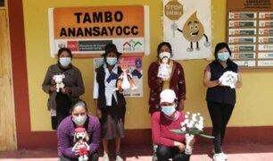 Apurímac: madres tejedoras quechuahablantes se reinventan con la venta virtual de sus productos