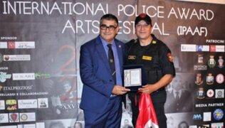 Policía peruano en retiro gana por tercera vez concurso mundial entre agentes