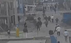 VES: vecinos aterrados por peleas entre barristas