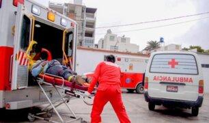 Matucana: Piedra cae sobre bus interprovincial, rompe el techo y mata a anciano