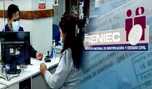 Reniec atenderá sin cita desde este lunes 4 de octubre, pero con aforo limitado