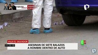 VES: sicarios asesinan a balazos a sujeto dentro de su vehículo