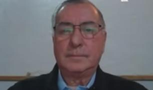 """Óscar Valdés: """"El Congreso hizo mal al otorgarle la confianza al Gabinete de Bellido"""""""