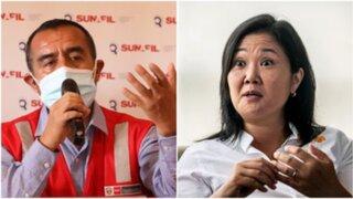 """Iber Maraví a Keiko Fujimori : """"Prepárese que la voy a querellar"""""""