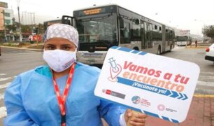 Quincena de octubre se iniciaría aplicación de tercera dosis a trabajadores de Salud