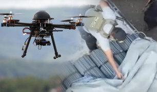 Recuperan camión robado gracias al uso de drones