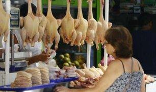 Junín: Vendedores de pollo acatan paro ante elevado precio en Huancayo