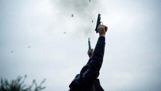 SJL: sujeto realizó disparos al aire cuando se estacionaron fuera de su vivienda