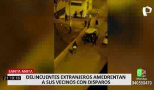 Santa Anita: venezolanos atormentan a vecinos con fiestas y disparos al aire
