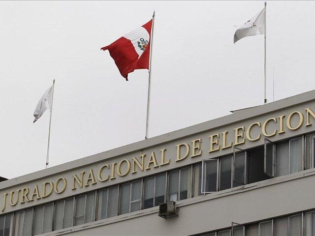 JNE: Registro de Organizaciones Políticas verá cancelación de partidos tras Elecciones 2021 a partir del 6 de septiembre