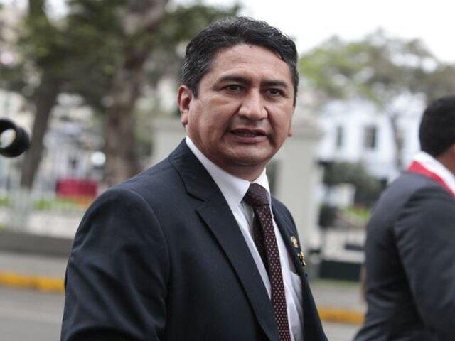 """Vladimir Cerrón: """"Intentan boicotear futura Asamblea Constituyente"""""""