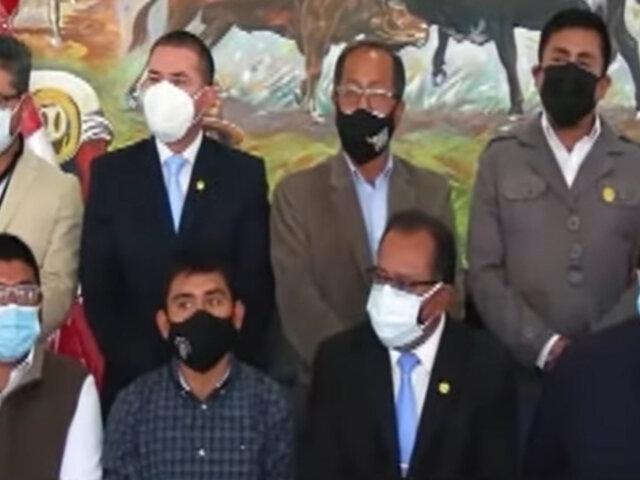 Arequipa: autoridades exigen al Gobierno que transfiera dinero  pagado por Cerro Verde y Buenaventura
