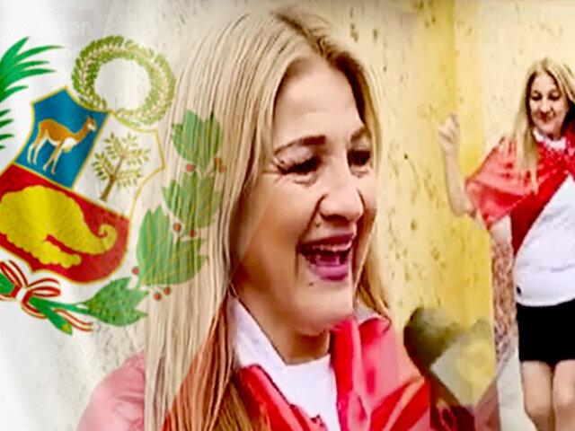 Barranco: tía de Gianluca Lapadula canta para la selección peruana