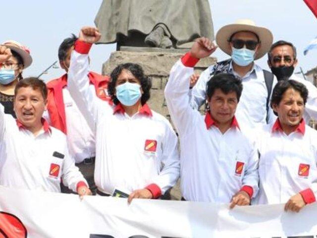 Perú Libre: última campaña electoral costó 111 mil soles según representantes del partido