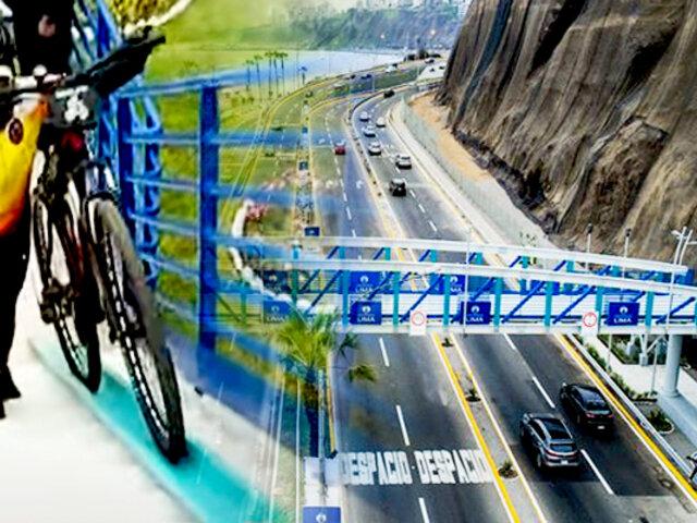 Miraflores: MML inaugura segundo puente peatonal inclusivo