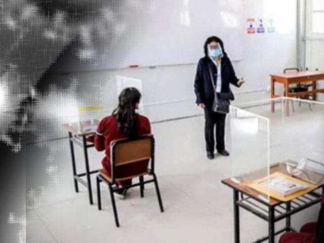 Lima inicia clases semipresenciales con 16 colegios el 15 de setiembre