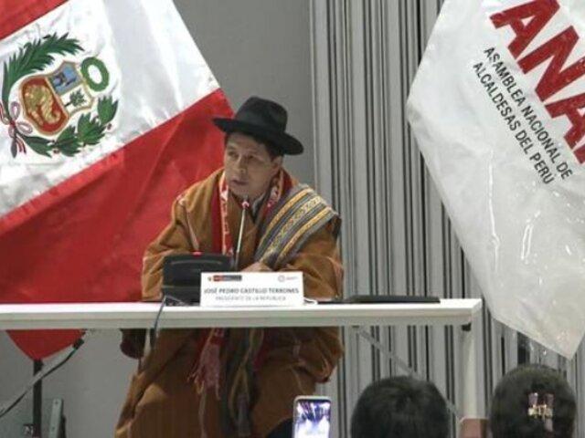 Castillo anunció nuevo organismo que supervisará ejecución en ministerios, municipios y regiones