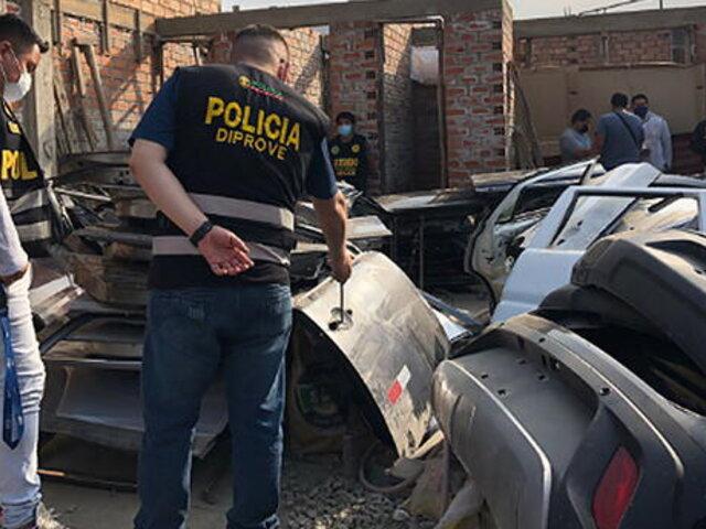 Capturan a sujetos que robaban autopartes en Independencia