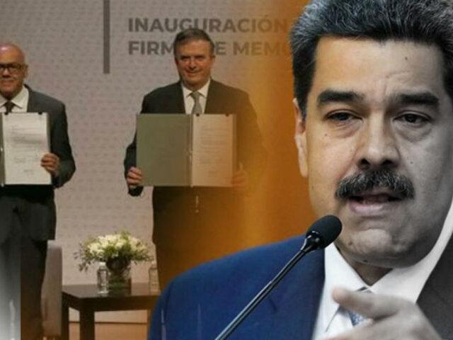 México: Gobierno de Venezuela y la oposición inician la segunda fase de diálogos