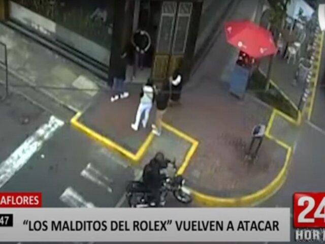 """Miraflores: los """"malditos del rolex"""" asaltan a comensal en restaurante"""