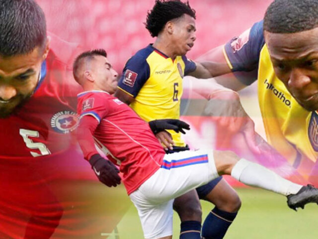 Ecuador vs. Chile empatan sin goles por eliminatorias Qatar 2022