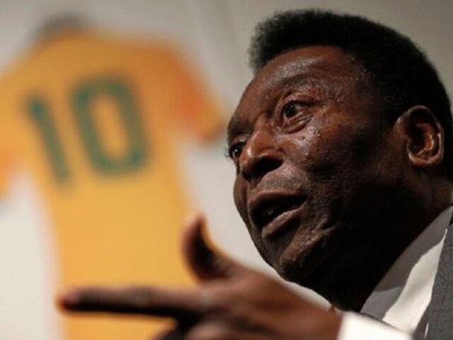 'Pelé' se encuentra hospitalizado hace seis días en Sao Paulo