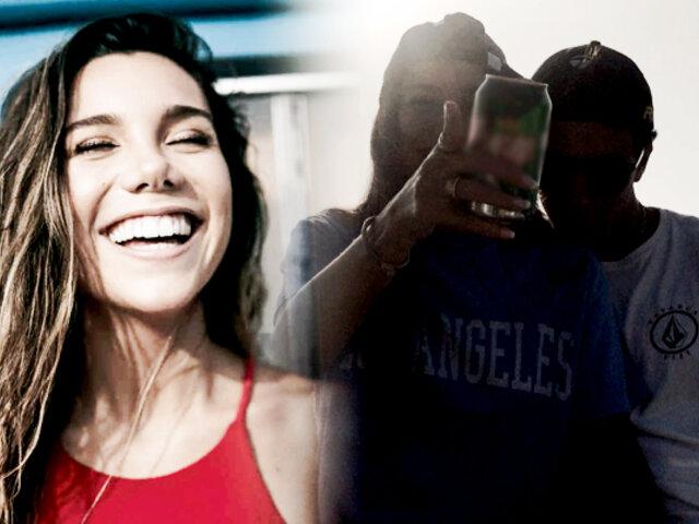 Picantitas del Espectáculo: Mafer Neyra se muestra enamoradísima de surfista