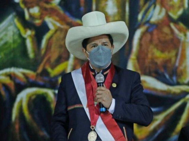 """Castillo sobre viaje a EEUU: """"Vamos a garantizar que en el Perú no hemos venido a expropiar a nadie"""""""