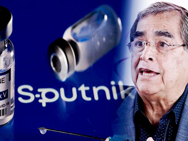 """Ugarte sobre instalación de planta de vacunas Sputnik: """"no es una solución a corto plazo"""""""