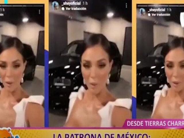 Picantitas del Espectáculo: pese a polémica, Sheyla Rojas continúa mostrando sus lujos