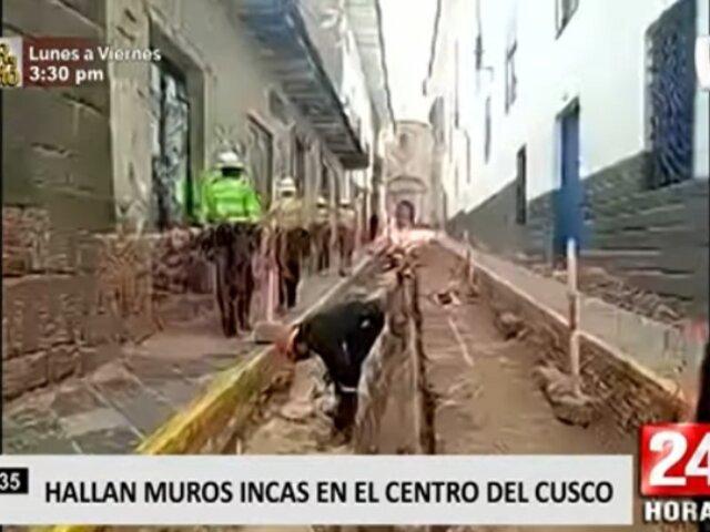 Cusco: hallan muros incas y sospechan de existencia de ciudad enterrada