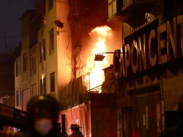 Incendio en Mesa Redonda reveló presencia de almacenes clandestinos
