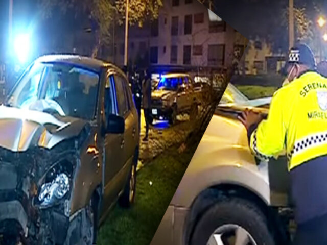 Conductor en estado de ebriedad choca contra árbol y fuga tras accidente