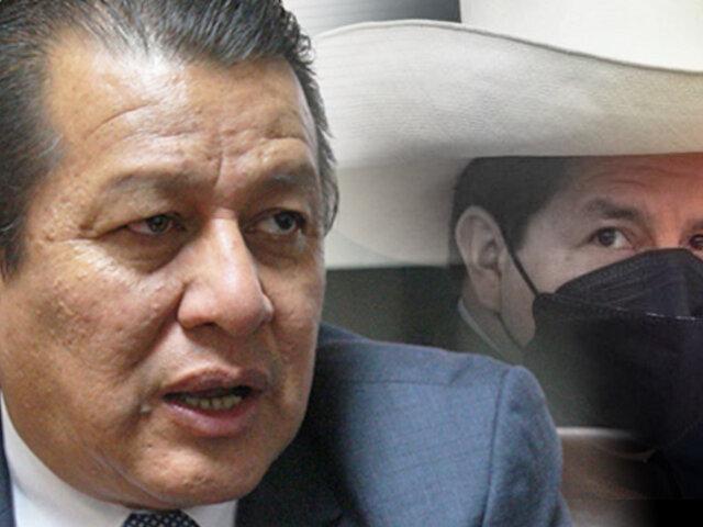 """Eduardo Salhuana: Castillo dejó entrever que habría cambios en gabinete """"en el corto plazo"""""""