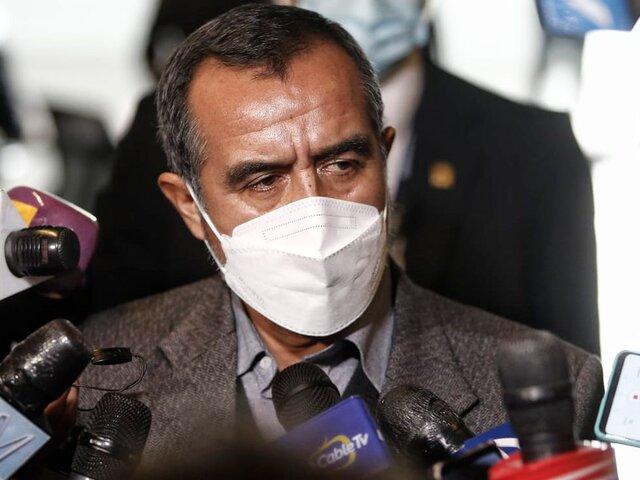 Parlamentarios de Perú Libre desconocen participación de Maraví en destrozos de locales públicos