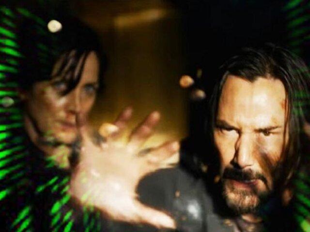 'Matrix 4': primer tráiler se hace viral tras su estreno