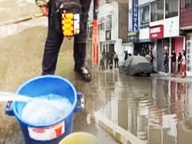 SJL: Sedapal anuncia descuentos en recibos de setiembre para vecinos afectados por corte de agua tras aniego