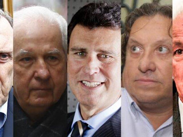 Odebrecht: PJ dictó restricciones e impedimento de salida del país a 5 empresarios por Interoceánica Sur