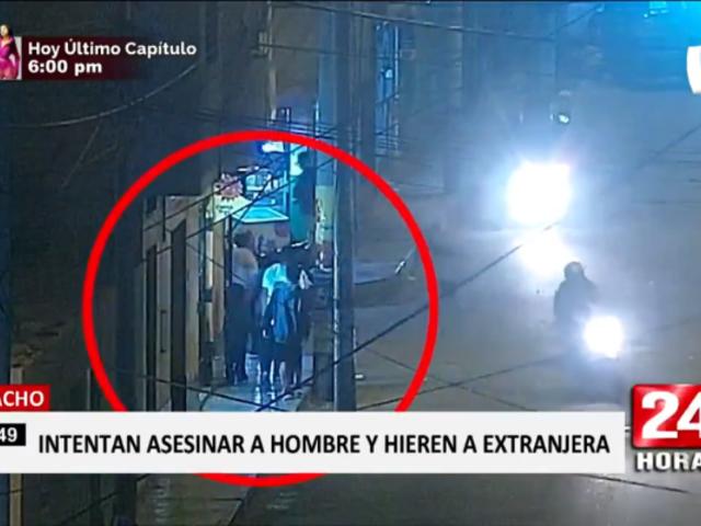 Huacho: ataque de sicarios contra sujeto deja un herido
