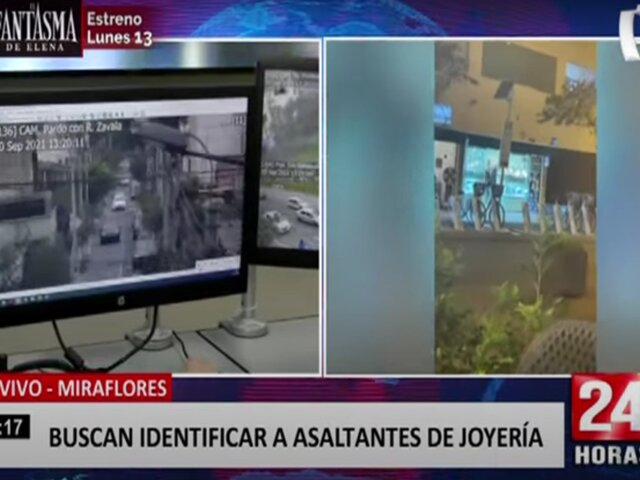 Miraflores: aumentan operativos y monitoreo de cámaras ante constantes asaltos