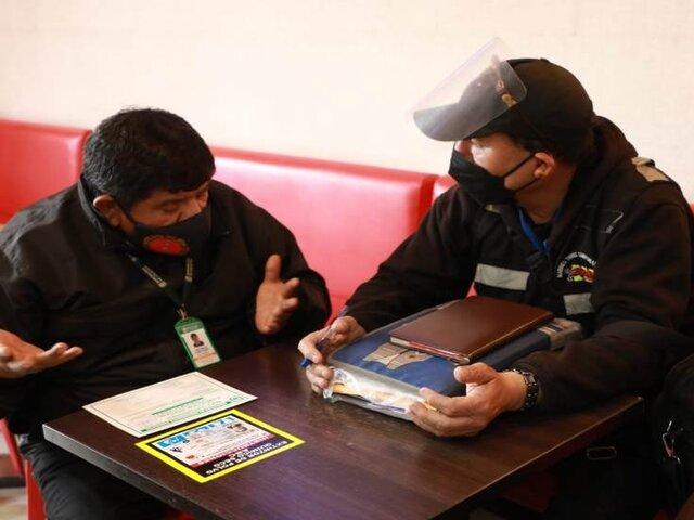 Los Olivos: detienen a estafador que se hizo pasar como inspector municipal para pedir dinero