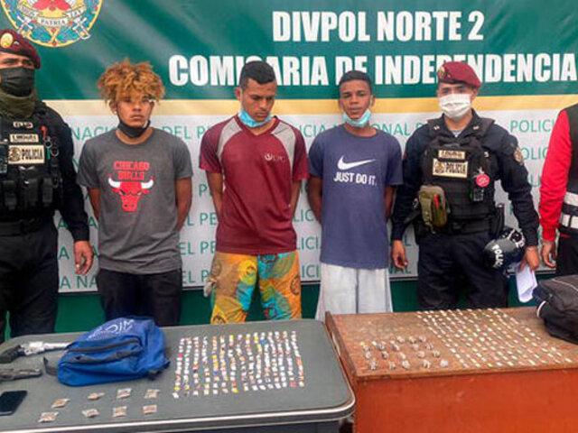 "Independencia: capturan a tres extranjeros integrantes de la banda ""Los Malditos de Aragua"""
