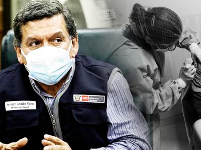 Ministro Cevallos: acuerdo con Pfizer garantiza 35 millones de dosis para refuerzo