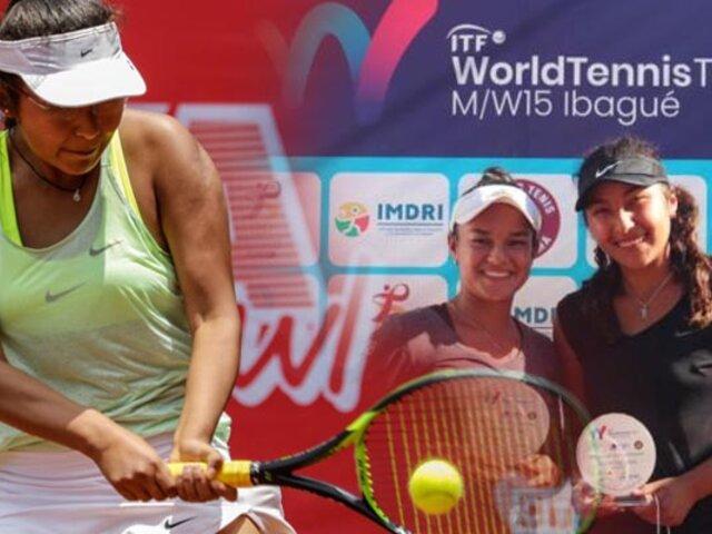 Peruana Romina Ccuno se consagra campeona del ITF World Tennis Tour