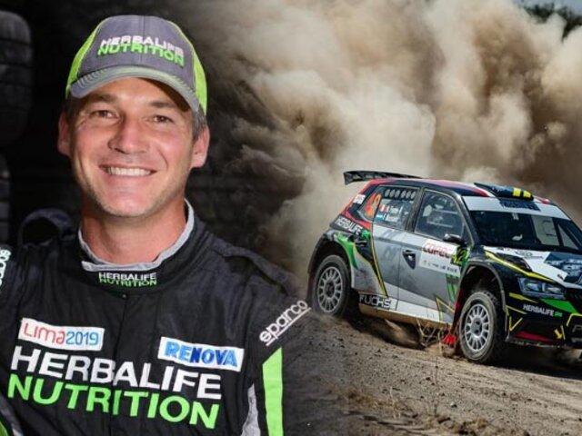 Piloto peruano Nicolás Fuchs gana el Rally de Casablanca en Chile