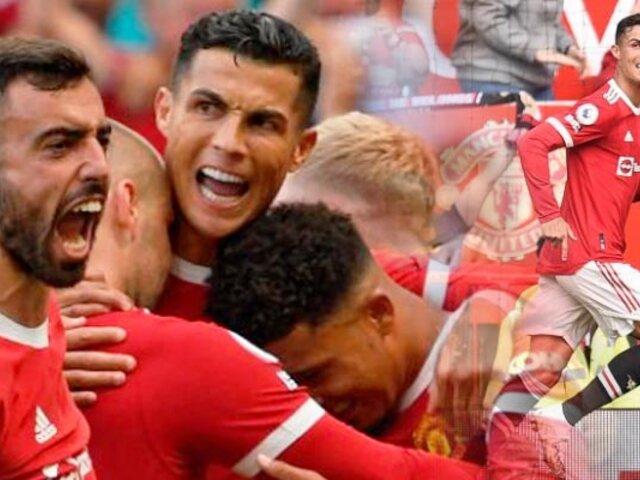 """Cristiano Ronaldo: Manchester United venció 4-1 a Newcastle con doblete del """"Bicho"""""""