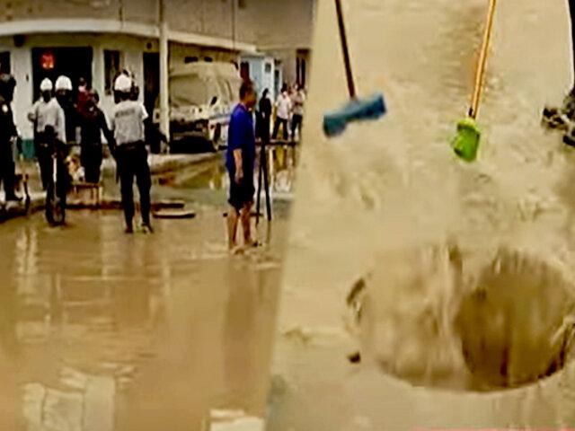 Vecinos reportan nuevo aniego en San Juan de Lurigancho
